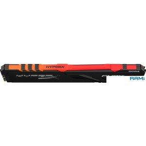 Оперативная память HyperX Fury RGB 16GB DDR4 PC4-24000 HX430C15FB3A/16