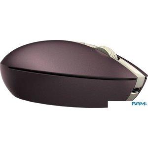 Мышь HP Spectre 700 (бордовый/золотистый)