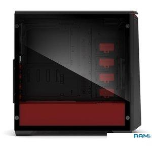 Корпус Phanteks Eclipse P400 (черный/красный)