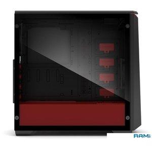 Корпус Phanteks Eclipse P400S (черный/красный)