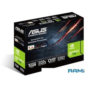 Видеокарта ASUS GeForce GT 710 LP 2GB GDDR5