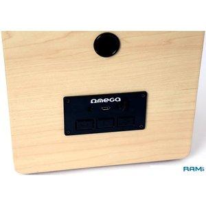 Беспроводная колонка Omega Wooden