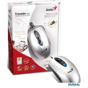 Мышь Genius Traveler 320 (серебристый)