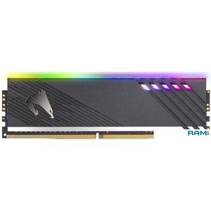 Оперативная память Gigabyte Aorus RGB 2x8GB DDR4 PC4-28800 GP-AR36C18S8K2HU416RD