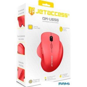 Мышь Jet.A Comfort OM-U65G (розовый)
