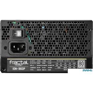 Блок питания Fractal Design Ion+ 860W Platinum FD-PSU-IONP-860P-BK