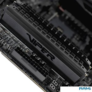 Оперативная память Patriot Viper 4 Blackout 2x4GB DDR4 PC4-24000 PVB48G300C6K