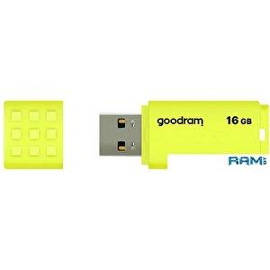 USB Flash GOODRAM UME2 16GB (желтый)