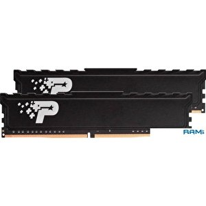 Оперативная память Patriot Signature Premium Line 2x4GB DDR4 PC4-19200 PSP48G2400KH1