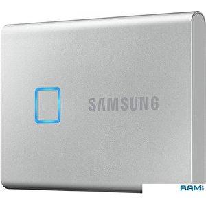 Внешний накопитель Samsung T7 Touch 2TB (серебристый)