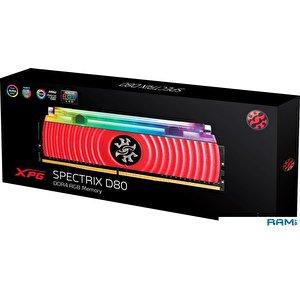 Оперативная память A-Data Spectrix D80 RGB 2x16GB DDR4 PC4-25600 AX4U3200316G16A-DR80