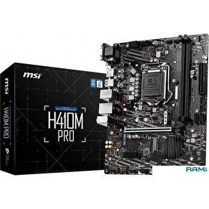 Материнская плата MSI H410M Pro