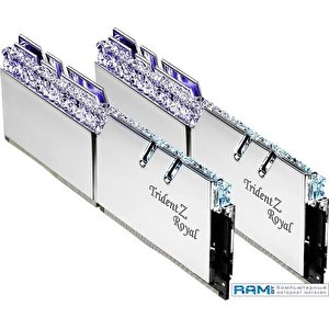 Оперативная память G.Skill Trident Z Royal 4x8GB PC4-32000 F4-4000C17Q-32GTRSB