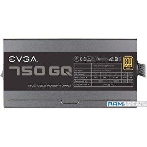 Блок питания EVGA 750 GQ 210-GQ-0750-V2