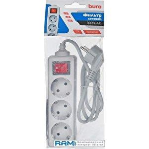 Сетевой фильтр Buro 300SL-3-G