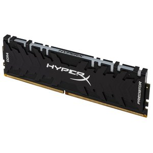 Оперативная память DDR4 8GB Kingston HyperX Predator RGB (HX430C15PB3A/8)