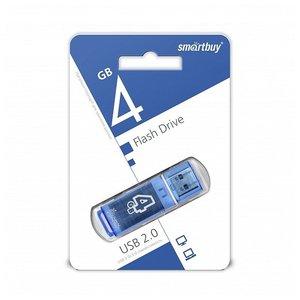 USB Flash Smart Buy Glossy Black 4GB (SB4GBGS-K)