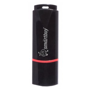 USB Flash Smart Buy Crown White 4GB (SB4GBCRW-W)