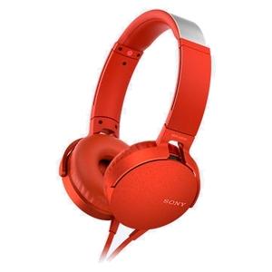 Гарнитура Sony MDR-XB550APR Red