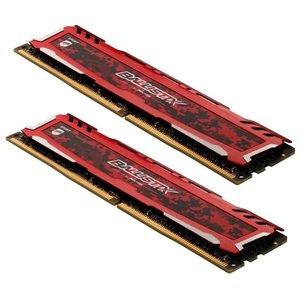 Оперативная память Crucial Ballistix Sport LT 2x8GB DDR4 PC4-19200 BLS2K8G4D240FSEK