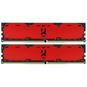 Оперативная память GOODRAM Iridium 2x8GB DDR4 PC4-19200 [IR-B2400D464L15S/16GDC]