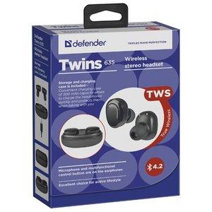 Наушники с микрофоном Defender Twins 635