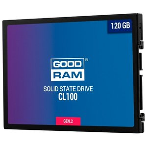 SSD  Goodram 120Gb CL100 Gen.2 (SSDPR-CL100-120-G2)