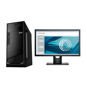 """Компьютер офисный с монитором 22"""" на базе процессора Intel Pentium Gold G5500"""