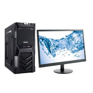 """Компьютер игровой с монитором 24"""" на базе процессора ntel Pentium Gold G5500"""