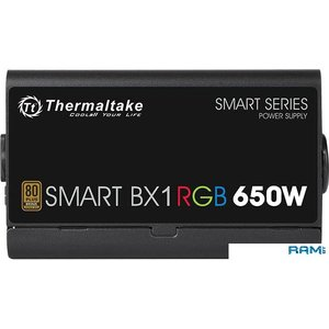 Блок питания Thermaltake Smart BX1 RGB 650W SP-650AH2NKB-2
