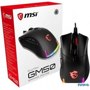 Игровая мышь MSI Clutch GM50