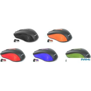 Мышь Omega OM-419 (черный/зеленый)