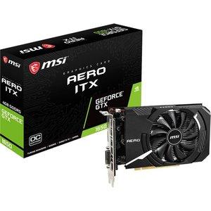 Видеокарта MSI GeForce GTX 1650 Aero ITX OC 4GB GDDR5