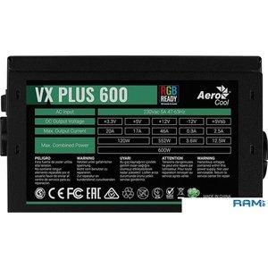 Блок питания AeroCool VX-600 Plus RGB