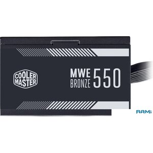 Блок питания Cooler Master MWE 550 Bronze V2 MPE-5501-ACAAB