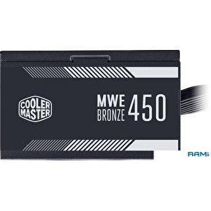 Блок питания Cooler Master MWE 450 Bronze V2 MPE-4501-ACAAB-EU