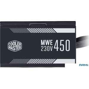 Блок питания Cooler Master MWE 450 White 230V V2 MPE-4501-ACABW-EU