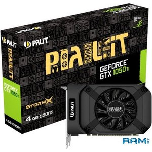 Видеокарта Palit GeForce GTX 1050 Ti StormX 4GB GDDR5 [NE5105T018G1-1070F]