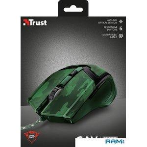 Игровая мышь Trust GXT 101D Gav (зеленый)