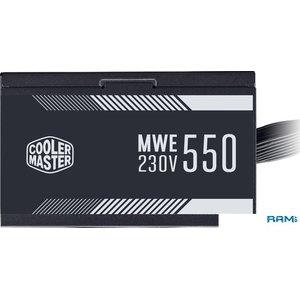 Блок питания Cooler Master MWE 550 White 230V V2 MPE-5501-ACABW-EU