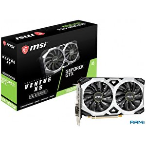 Видеокарта MSI GeForce GTX 1660 Super Ventus XS OCV1 6GB GDDR6