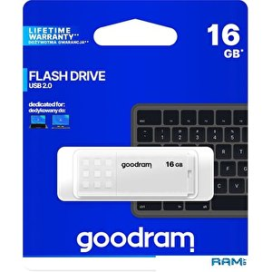 USB Flash GOODRAM UME2 16GB (белый)