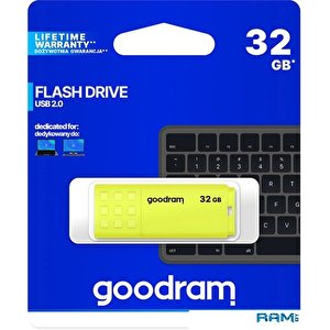 USB Flash GOODRAM UME2 32GB (желтый)