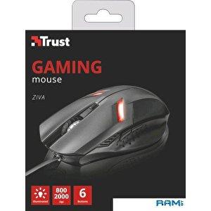 Игровая мышь Trust Ziva (серый)
