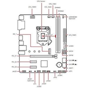 Материнская плата MSI B460M-A Pro