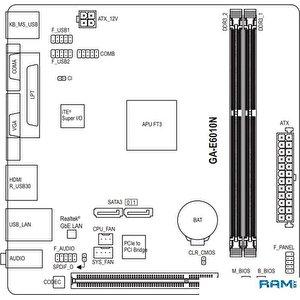 Материнская плата Gigabyte GA-E6010N (rev. 1.0)