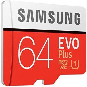 Карта памяти Samsung EVO Plus 2020 microSDXC 64GB (с адаптером)