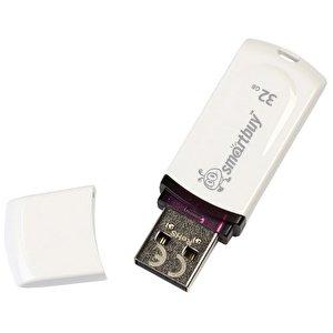 USB Flash Smart Buy 32GB Paean White (SB32GBPN-W)