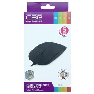 Мышь CBR CM-104 Black