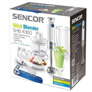 Погружной блендер Sencor SHB 4365VT